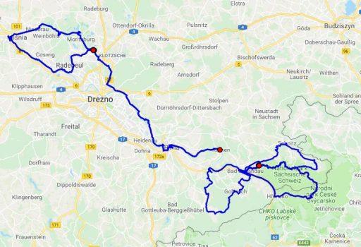Obóz rowerowy  dla wytrawnych  Łaba 2018.