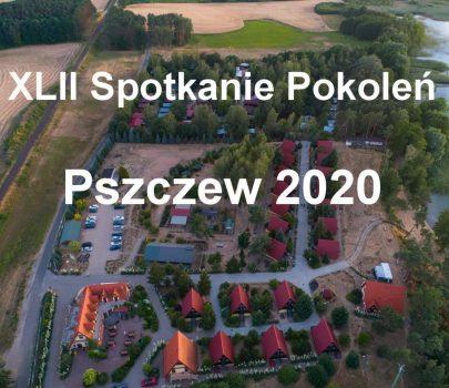 """XLII SPOTKANIE POKOLEŃ  """"PSZCZEW 2020"""""""